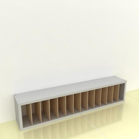 Szafka na papier 15x15cm leżąca - (przestrzeni: 14)