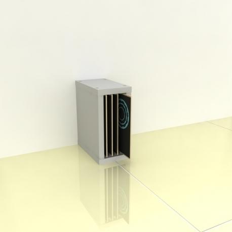 Organizer na wykrojniki (jednostronny, 20 cm, przedziałki: 4)
