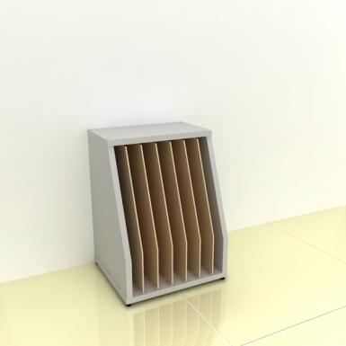 Szafka na papier A3 - MICRO pion-bok (przestrzeni: 7)