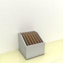 Szafka na papier - MICRO pion-góra (przestrzeni: 7)