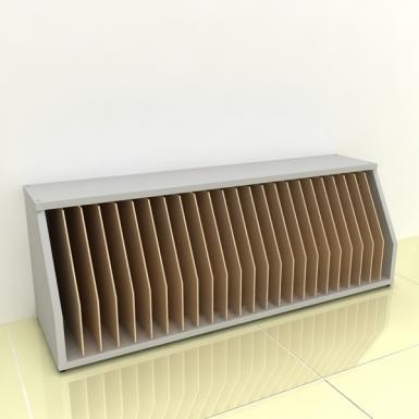 Szafka na papier - MIDI pion-bok (przestrzeni: 24)